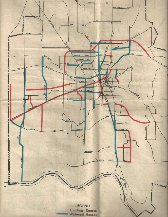 1978 Plan Roads