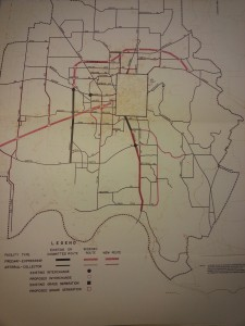 1972 Expressway Plan
