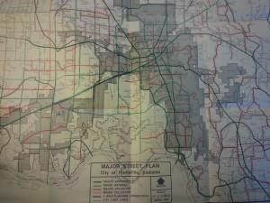 1988 Major Street Plan