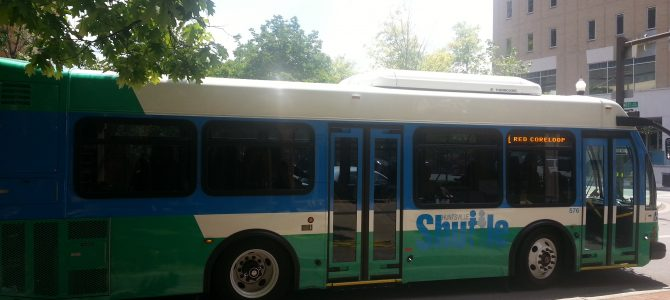 Transit Service Change: Downtown Weekend Circulator